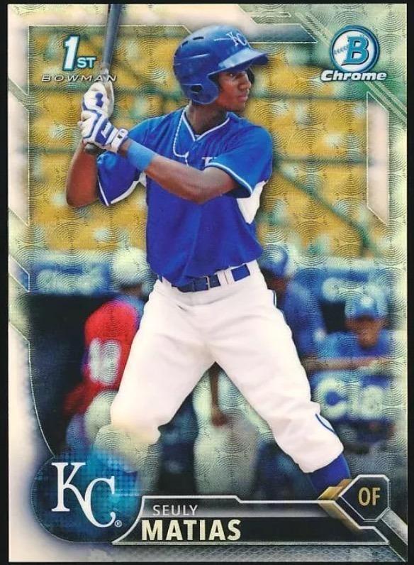 Matias Baseball Card